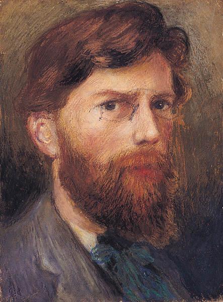 Джордж Уильям Рассел, автопортрет (1903)