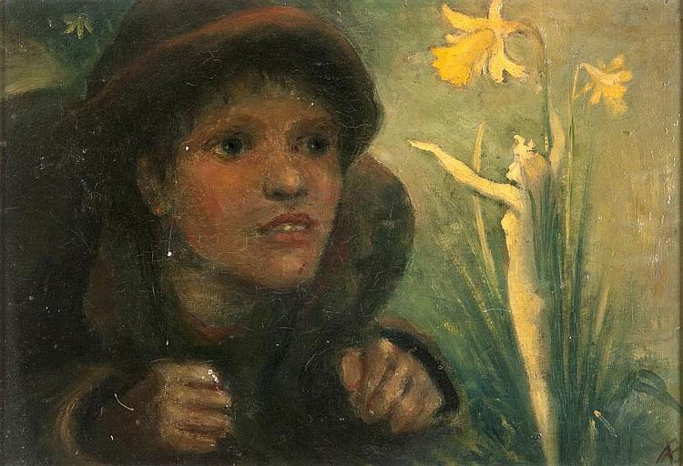 """Джордж Уильям Рассел, """"Дух цветка"""""""