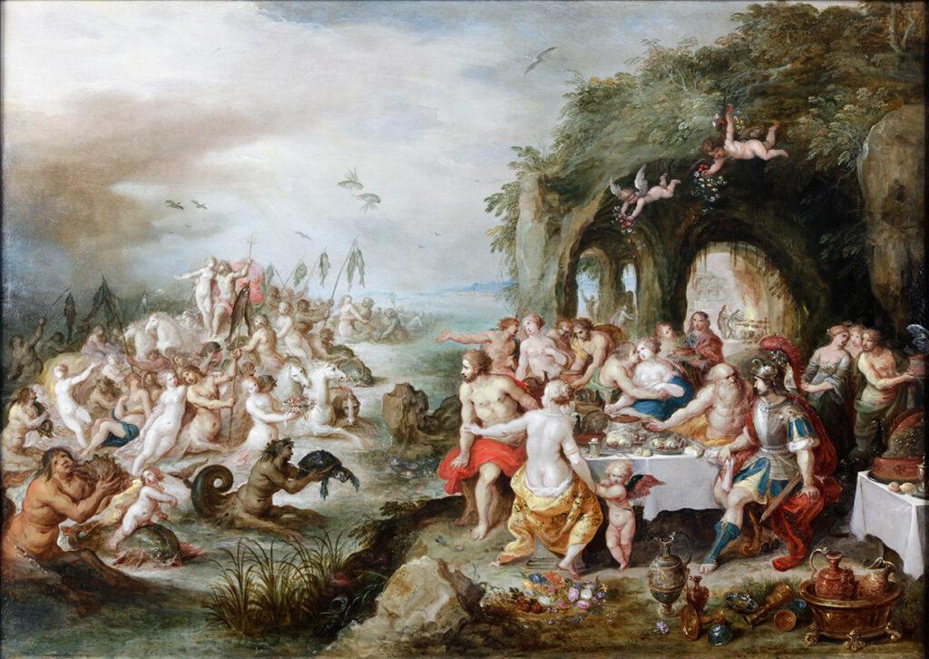 "Франс Франкен Младший (II), ""Пир богов"", 1-я пол. XVII в."