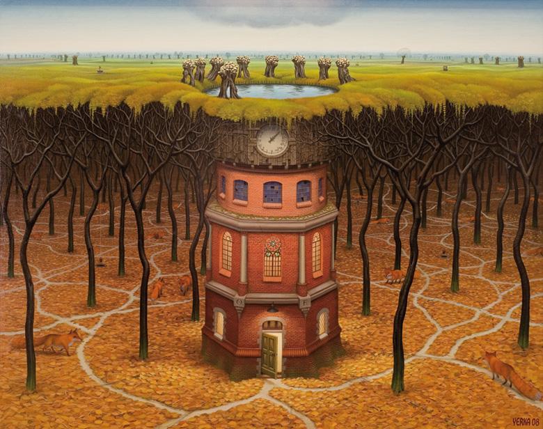 """Яцек Йерка, """"Башня подсознания"""""""